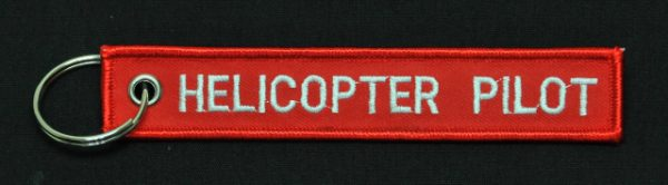"""Key Chain """"Helicopter Pilot"""""""