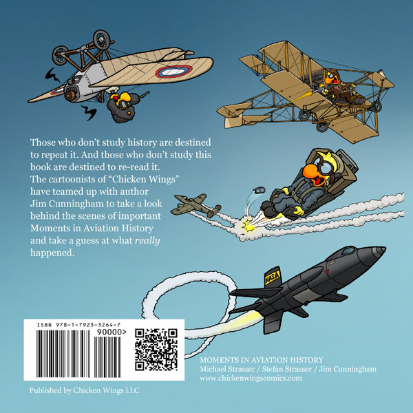 Moments in Aviation History Backcover