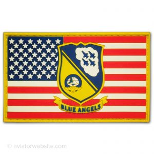 Blue Angels Patch with US Flag