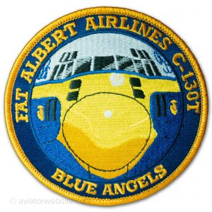 """Blue Angels """"Fat Albert Airlines"""" - Official Patch"""