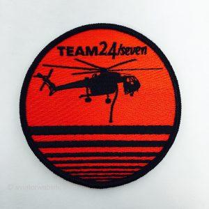 """S-64 Skycrane"" Firefighting Patch - Team 24/seven"