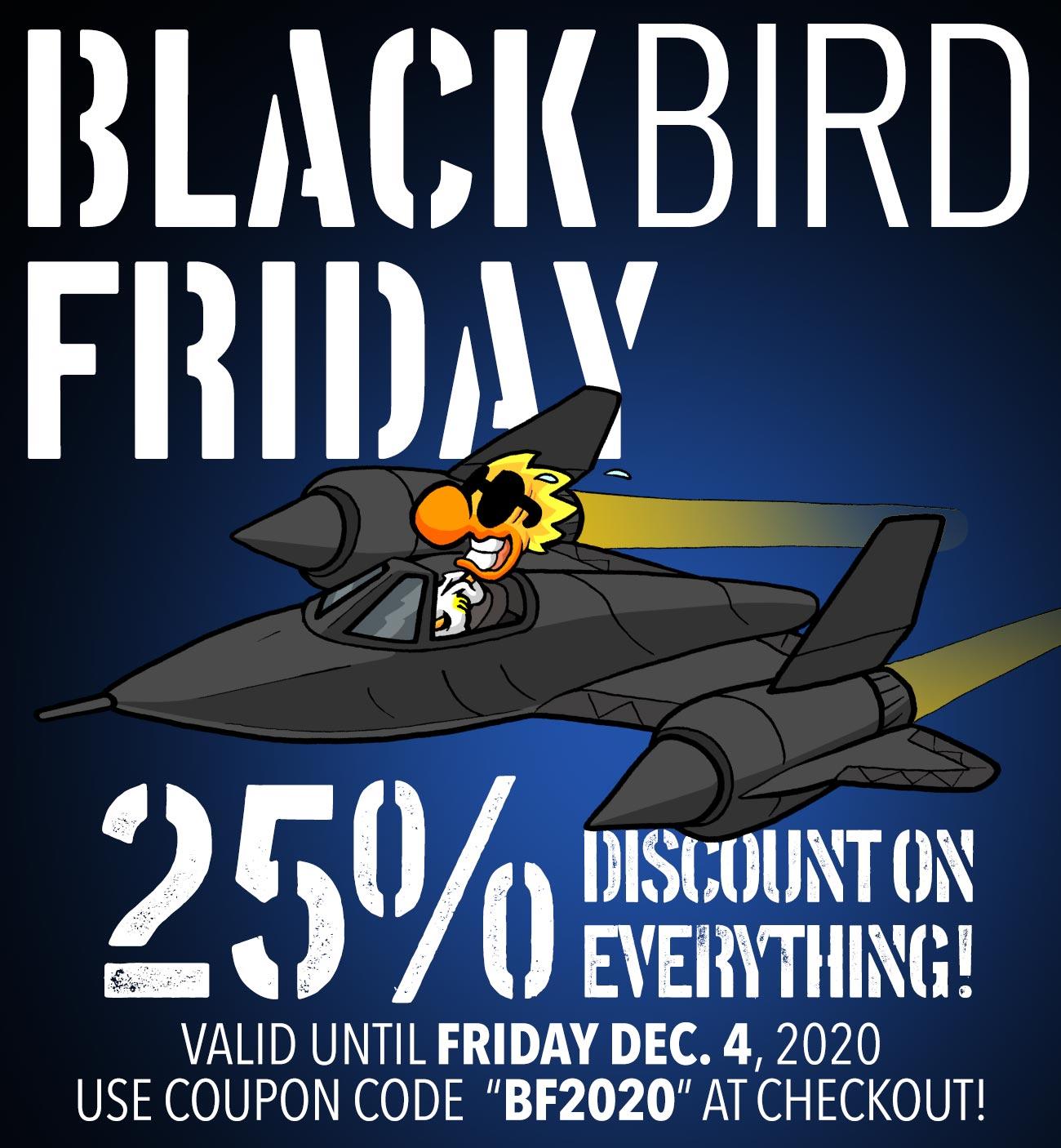 Black BIRD Friday 2020