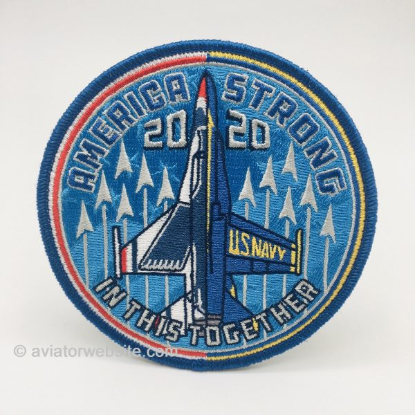 """Thunderbirds 2020 """"America Strong"""" Patch"""