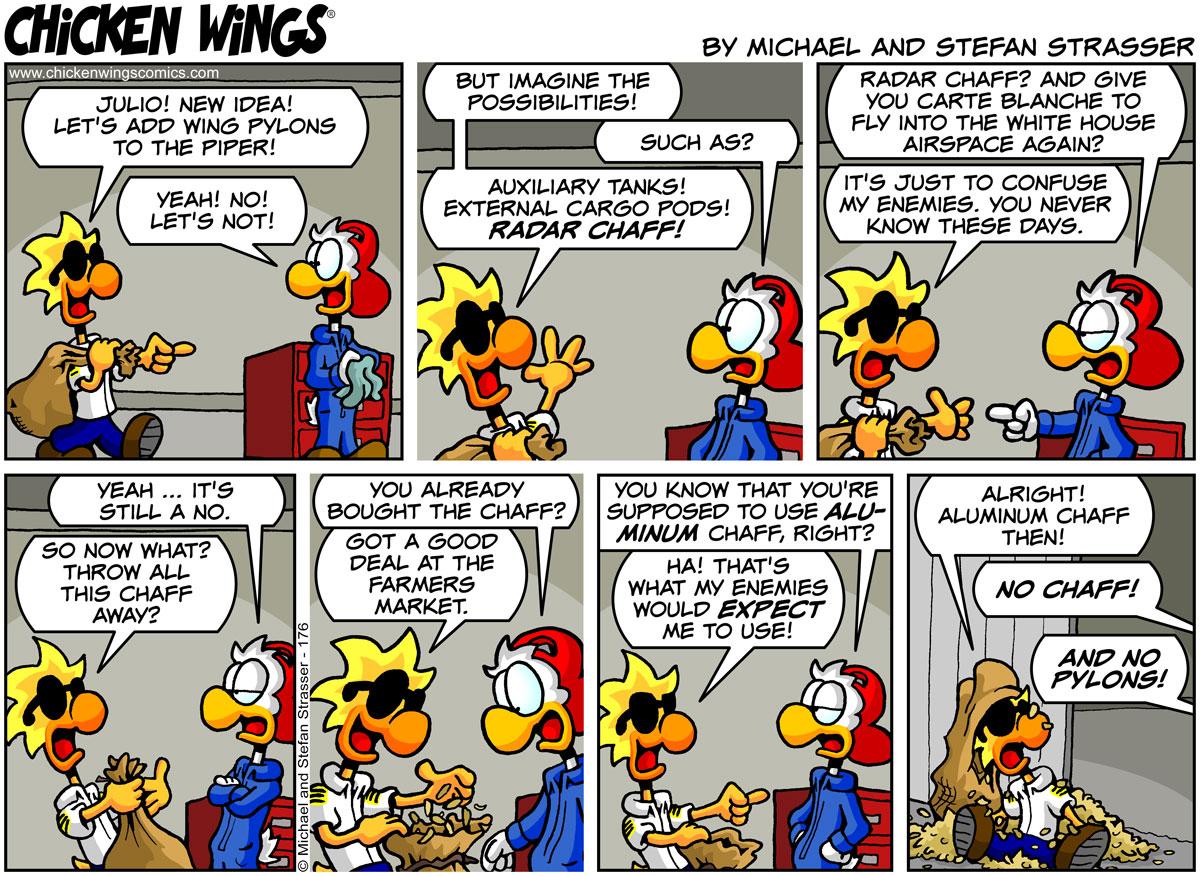 Wing pylon possibilities